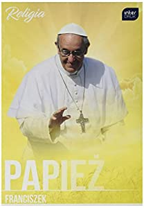 Interdruk ZE60RELFRA Libro de Ejercicios A3 32#UV Estudios religiosos (Cubierta Imagen Papa Francia), luz Azul