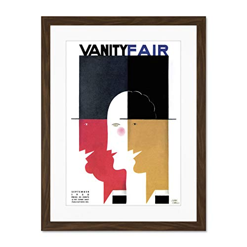 Magazine Cover Vanity Fair Women Fashion 1930 Carlu Large Art Print Poster Wall Decor 18x24 inch Supplied Ready To Hang Cover des Magazins Abdeckung Messe Frau Mode Große Kunst Wand Deko