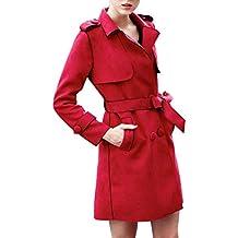 Trenchs Femmes Esprit EDC. Rouge Rouge Achat Vente