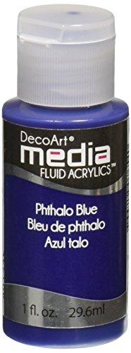 Deco Art Phthalo bl-Media Fluid Acryl, Acryl, Mehrfarbig - Art-deco-möbel