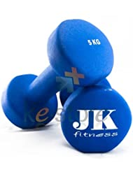 Peso Singolo Neoprene 5 Kg JK Fitness