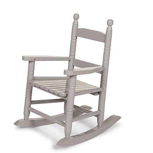 Childwood RCKG2 Kinder-Schaukelstuhl grau