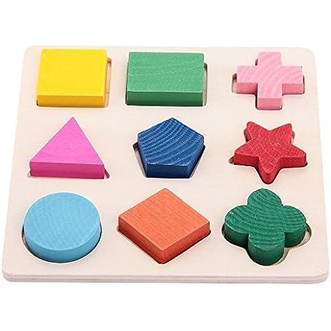 fitTek® Set Rompecabezas Puzzle Juguete Educativo para Bebés Niños Infantil 04