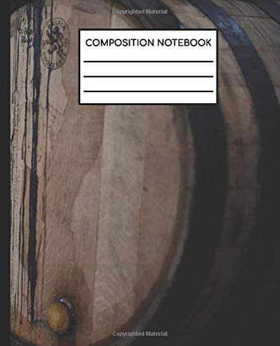 Composition Notebook - 110 pages - College Ruled (7.5