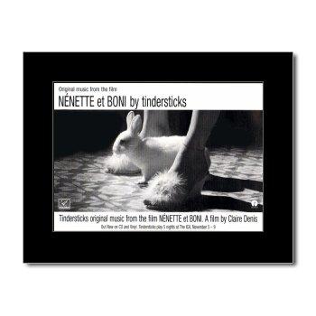 TINDERSTICKS - Nenette et Boni Matted Mini Poster - 21x13.5cm