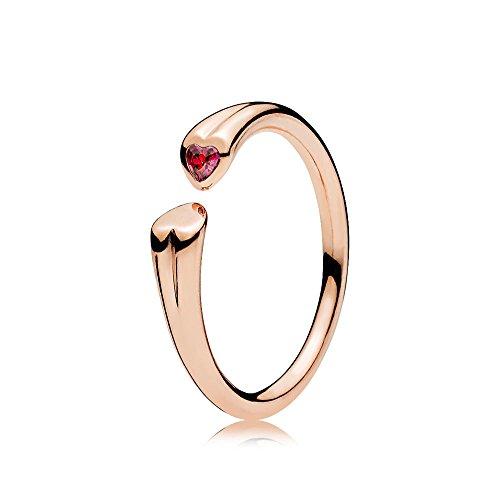 Pandora Damen-Ringe Rosa Zirkonia \'- Ringgröße 52 (16.6) 186570CZR-52
