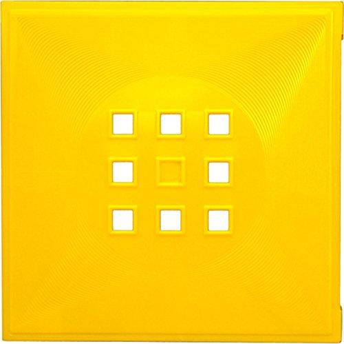 Dekaform Designer Tür für Würfelregal Flexi Einsatz Ikea Regal Expedit+Kallax mit Nörnäs * Sonnenblumen-Gelb