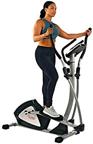 Sunny Health & Fitness Unisex Adult SF-E3804 Endurance Zone Magnetic Elliptical Trainer - Silver, One