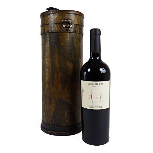 Portador de vino de lujo con celta Reserve Malbec Gouguenheim vino tinto - Regalo perfecto para el Día de la Madre