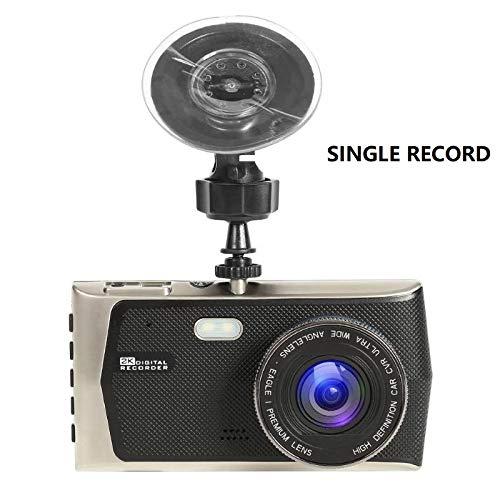 NPNPNP Aufnahmegerät Fahren Hd 1080p Car Dvr Kamera 4 Inch Screen 170 Lens Wdr Night Vision Dash Cam Driving Recorder Nichts Single Record (Fahren Records Kamera)