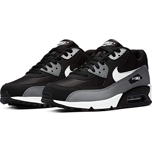 NIKE Men's Air Max '90 Essential Shoe, Chaussures de Gymnastique Homme, Noir (Black/White/Cool Grey/Anthracite 018), 43 EU
