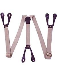 Suspenders Adjustable 6 Button Hole Suspenders