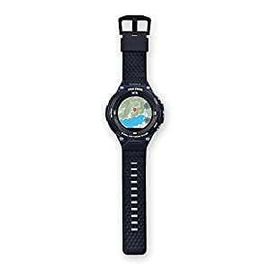 Casio wsd-f20 a-buaae LCD GPS (Satellite) Black, Blue Smart Watch - Smartwatch Watch with LCD Display, Touch Screen, WiFi, GPS (Lune), 90g, Black, Blue