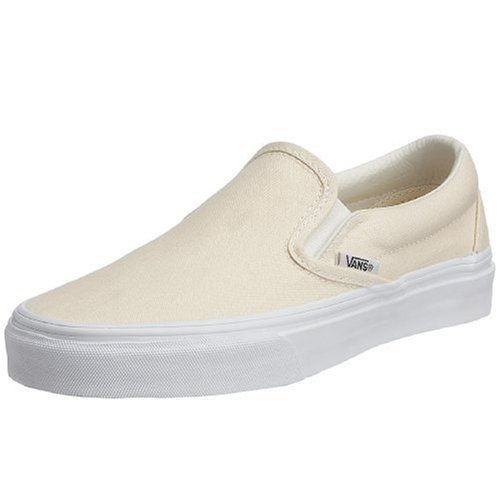 Vans Unisex-Erwachsene Classic Slip-On Low-Top, Weiß (White WHT), 46 EU