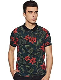 Pepe Jeans Men's Floral Regular fit Polo