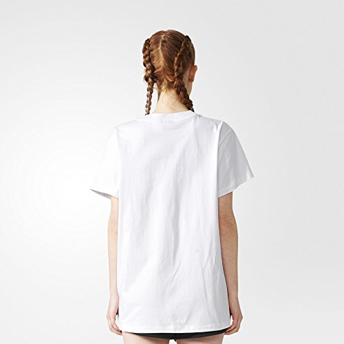 adidas Damen Big Trefoil T-Shirt White/Black