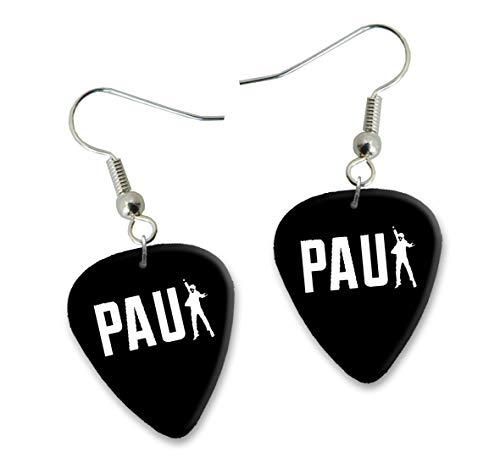 Paul McCartney Design 3 Gitarre Plectrum Ohrringe Earrings BWEG