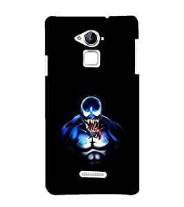 printtech Superhero Venom Back Case Cover for Coolpad Note 3 Lite Dual SIM with dual-SIM card slots