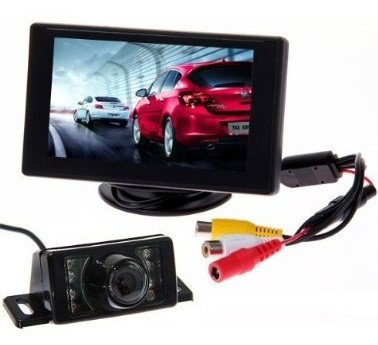BW® Hohe Qualität 10,9cm TFT LCD Rear View Monitor +