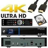 GigaBlue UHD UE 4K 2x DVB-S2 FBC 1x Dual DVB-C/T2 Tuner ULTRA HD E2 Linux Receiver inkl. 2 TB Festplatte