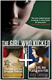Stieg Larsson Three Book Set-Millennium Trilogy-The Girl with the Dragon Tattoo, The Girl Who Played with Fire, The Girl Who Kicked the Hornets' Nest RRP £23.97 (MILLENNIUM TRILOGY)