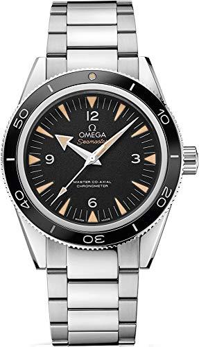 Omega Herren-Armbanduhr seamaster schwarzes Zifferblatt 41 mm 233.30.41.21.01.001