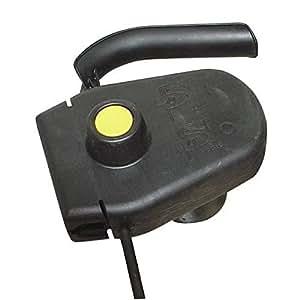 Combiné interrupteur avec sécurité 10.1 Ampère pour tondeuse electrique