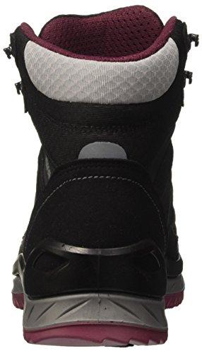Lowa Innox Gtx Mid Wms, Chaussures de Randonnée Femme Noir (Schwarz Beere)