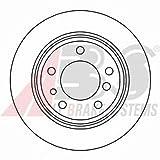 ABS 15872 Bremsscheiben - (Verpackung enthält 2 Bremsscheiben)