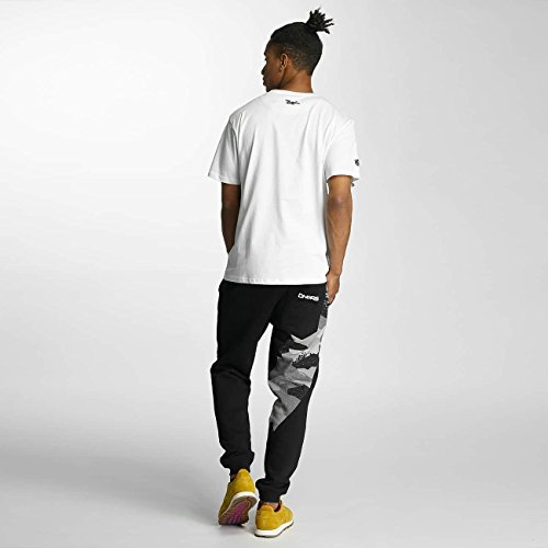 Dangerous DNGRS Uomo Maglieria/T-Shirt Bas2 Style Bianco