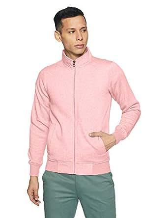 Qube By Fort Collins Men's Sweatshirt (929210 SMU_Pink Milange_M)