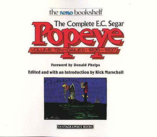 The Complete E. C. Segar Popeye: Dailies: 1935-1937