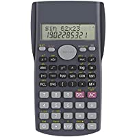 Protokart Battery Powered 2 Line LCD Display Business SAT/AP Test Engineering Scientific Calculator