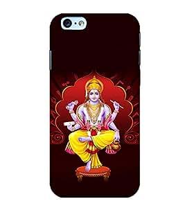 Printtech Slim Designer Lord God Vishnu Back Case Cover for Apple iPhone 6 Plus