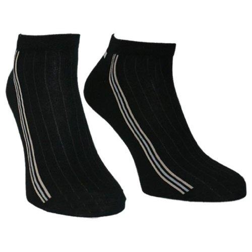 8 Paar Herren Sneakers 'soXx', schwarz , Größe:39-42, Farbe:schwarz