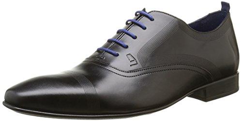 AZZARO Nobody, Chaussures Lacées Homme Noir (Noir 02)