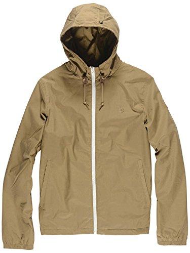 Element Alder Lightweight Hooded Jacket Black Taupe