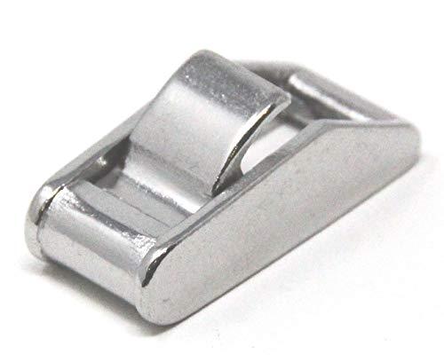 Mareteam Klemmschloss Zurrgurtschloß für 15 mm Gurtband aus Edelstahl 1.4401