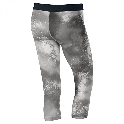 Nike - Pantaloni a 3/4 aderenti da donna Capri - grigio