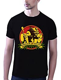 Tantra Mens 100 % Super Soft Combed Cotton Nagas Print Half Sleeve Printed T-shirt