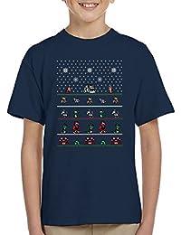 Chip N Dale Christmas Rangers Kid's T-Shirt