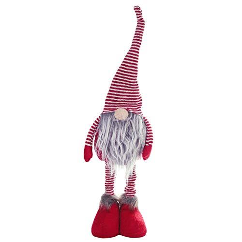Gnome Sexy Kostüm - Xuthuly Weihnachten Puppen Weihnachten Neujahr DIY