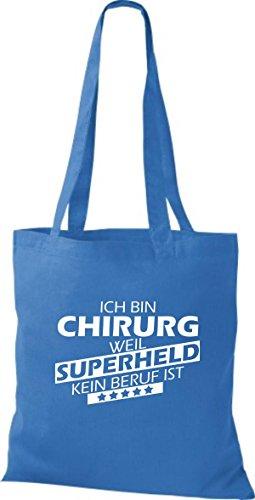 Tote Bag Shirtstown Sono Un Chirurgo Perché Il Supereroe Non È Una Professione Reale