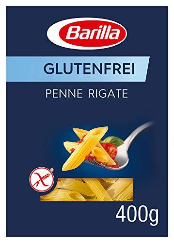 Barilla Pasta Penne Rigate glutenfrei aus Reis und Mais - 1er Pack (1x400g)