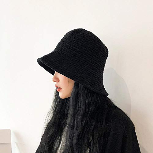 Sombrero pescador lana gruesa hembra otoño invierno