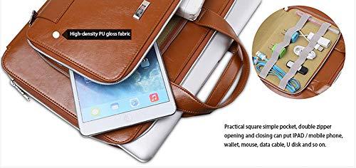 """JFF Multifunktions-Computergehäuse Datenkabel iPad Bag Laptoptasche Aktentasche eignet Sich für jeden Computer auf dem 11"""", 13"""", 15"""",Flesh,11inches"""