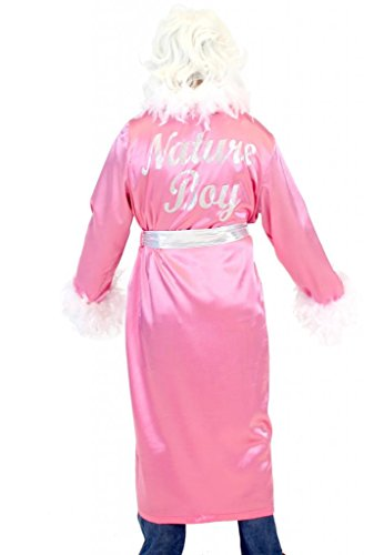 Ric Flair Nature Boy Costume Robe and Wig (Pink)