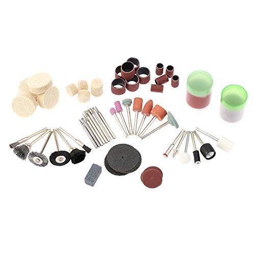 kkmoon Stäbe Zubehör-Schleifmaschinen Elektro, Kit-47254und Gravur aus Aluminium, Zubehör für Schleifbürste/Polieren/Bohren/Schleifen