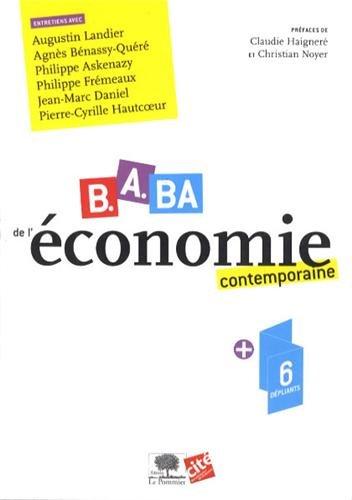 B.A BA de l'économie - 12 fresques dépliantes pour enfin comprendre notre monde