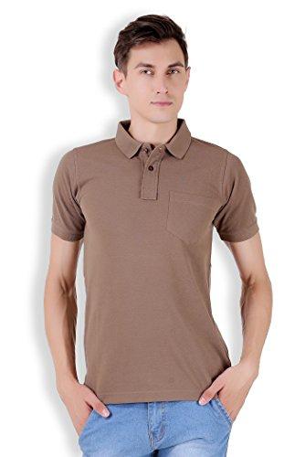 Tapasya Honey Brown Polo T-Shirt